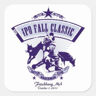 2011 pegatina de la obra clásica de la caída IPO