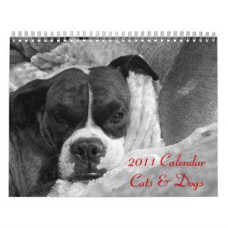 2011 Pet Calendar Cats Dogs