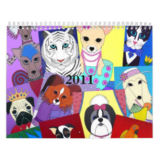 2011 PetPaw Studios Calendar
