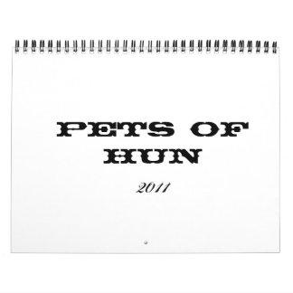 2011 Pets of Hun Calendar