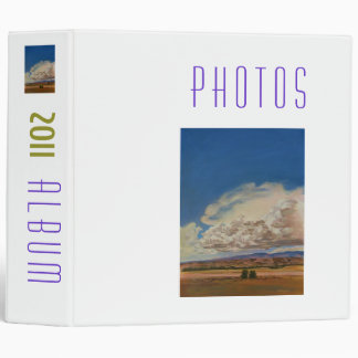 2011 Photo Album Vinyl Binder