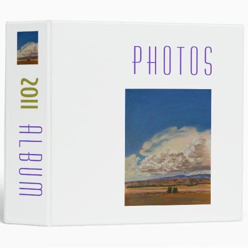 2011 Photo Album 3 Ring Binders