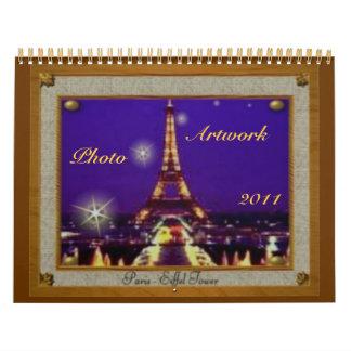 2011 Photo Artwork Calendar