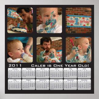 2011 Photo Calendar Poster