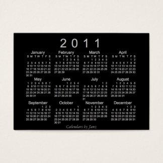 2011 Pocket Calendar Business Card
