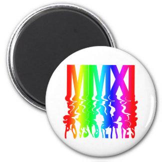 2011 POSIBILIDADES MMXI IMÁN REDONDO 5 CM