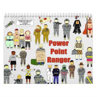 2011 Power Point Ranger Calendar