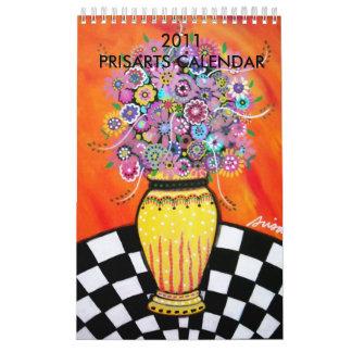 2011 PRISARTS CALENDAR