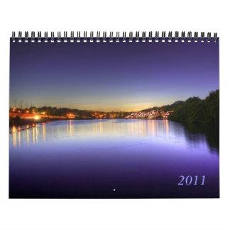 2011 puestas del sol calendarios de pared