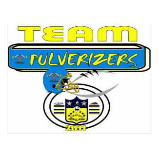 2011 Pulverizers SIDELINE Postcard