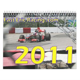 2011 Racing Calender Calendars