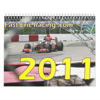 2011 Racing Calender Calendar