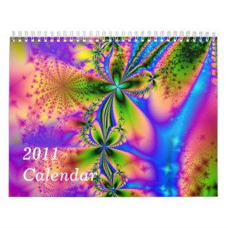 2011 Rainbow Calendar