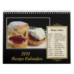 2011 Recipe Calendar