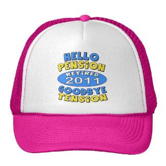 2011 Retirement Trucker Hat