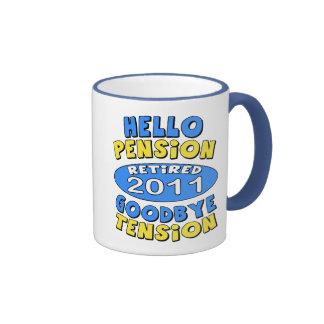 2011 Retirement Coffee Mugs