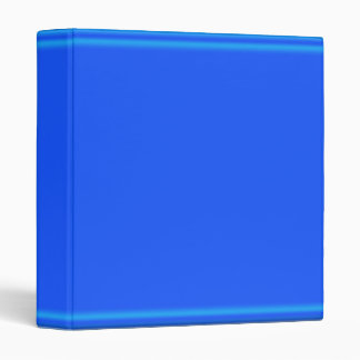 2011 Rich Dark Blue Glow Strip Binder