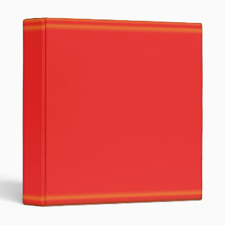 2011 Rich Dark Red Glow Strip 3 Ring Binder