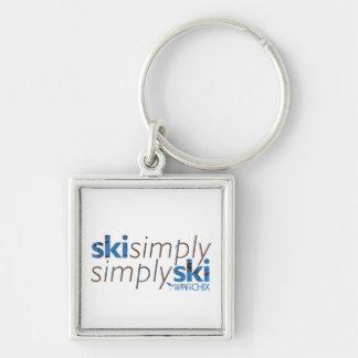 2011 Rippin Chix Ski Camp Key Chain
