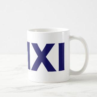 2011, Roman Numerals Coffee Mug