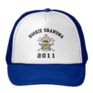 2011 Rookie Grandma Trucker Hat