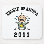 2011 Rookie Grandpa Mouse Pad