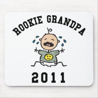 2011 Rookie Grandpa Mouse Pad
