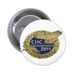 2011 Sacramento 2 Inch Round Button