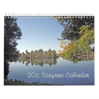 2011 Scripture Calendar