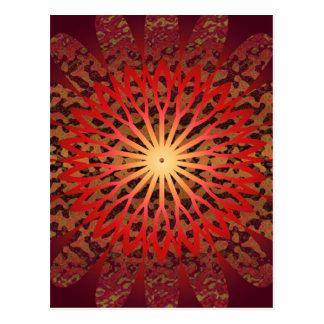 2011 SDC  SUN Dial Chakra Postcard