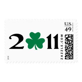 2011 shamrock postage stamps