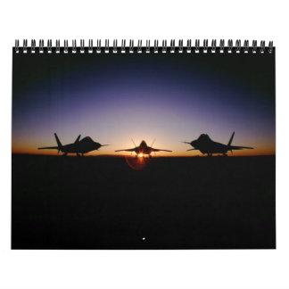 2011 siluetas militares calendario