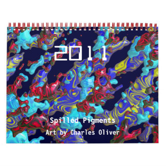 2011 Spilled Pigments Calendar