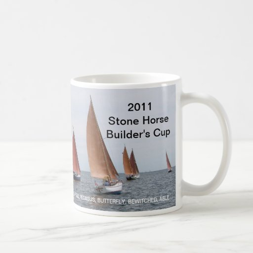 2011 Stone Horse Builder's Cup Coffee Mug