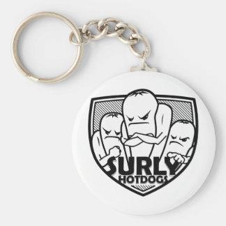2011 Surly Logo Basic Round Button Keychain