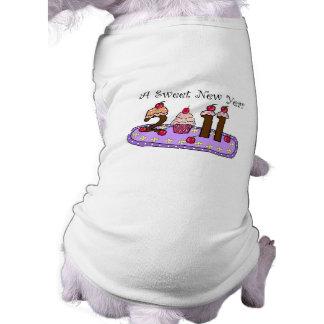 2011 sweet year dog tee