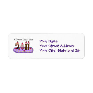 2011 sweet year, Your NameYour Street AddressYo... Label