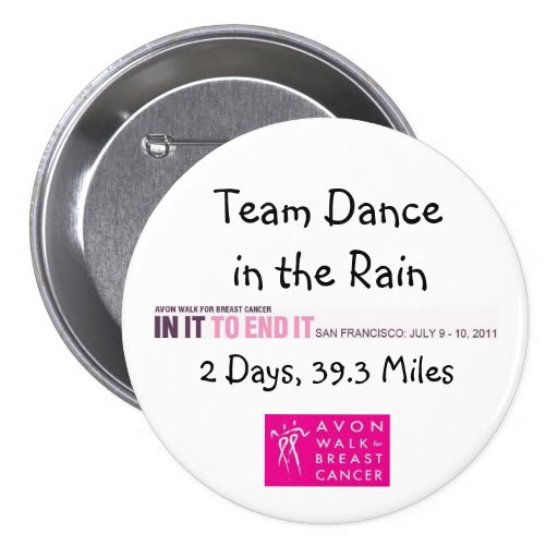 2011 Team Dance in the Rain Button
