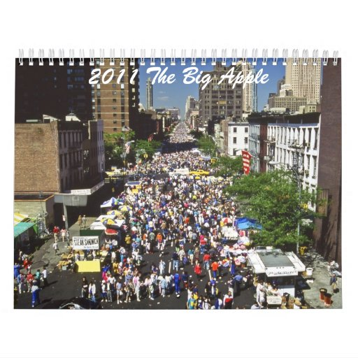 2011 The Big Apple Wall Calendars
