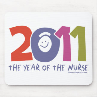 2011 - The  Year of the Nurse Mouse Pad