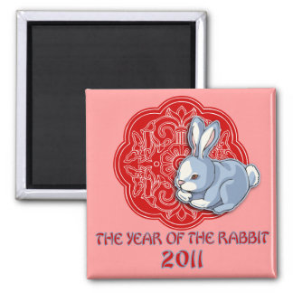 2011 The Year of the Rabbit Gifts Magnet