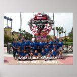2011 torneo del mundo de los gatos monteses NASP Poster