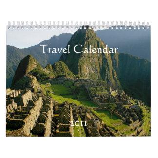 2011 Travel Calendar