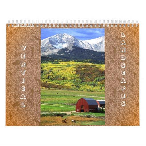2011 Vertical Landscape Calendar