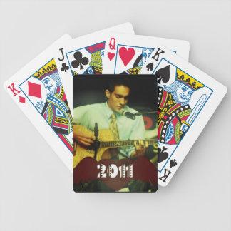 2011 viajes naipes del póker baraja de cartas