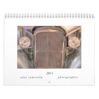2011 Vintage Car Calendar