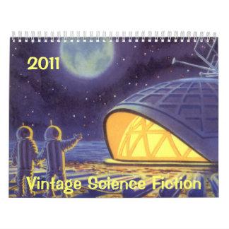2011 Vintage Science Fiction Calendars