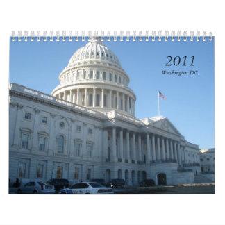 2011, Washington DC Wall Calendar