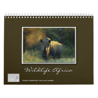 2011 Wildlife Africa - customizable Calendar