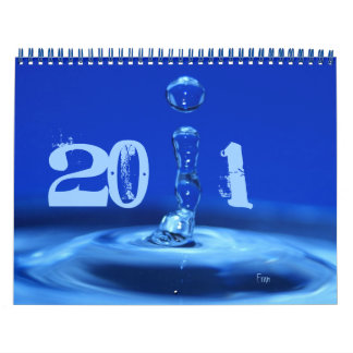 2011 will be blue calendar